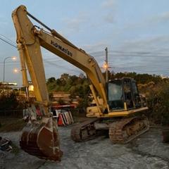 日本小松二手挖掘機