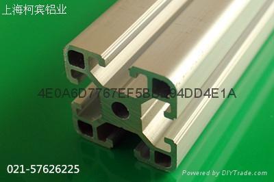 柯宾铝型材展示架4040 1