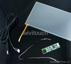 """22""""4 wire resistive touch kiosk touch screen"""