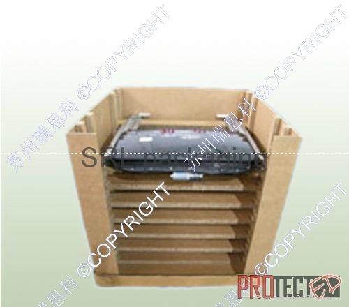 瓦楞紙箱單元化包裝 天地蓋+紙圍板+紙格擋 1
