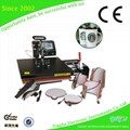 Combo heat transfert 8 in 1Machine