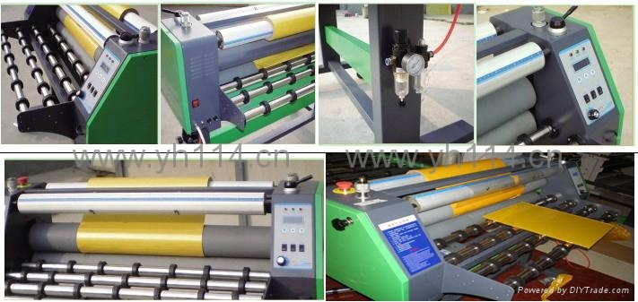Flatbed laminator machine YH-850B3 2
