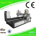 column engraving machine with  2 spindles YH-1520+rotary attach