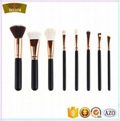 Custom private label cosmetic brushes kabuki makeup brush set