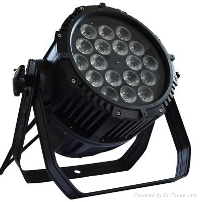 18PCS 15w 5 in 1 rgbwa led par outdoor IP65 1