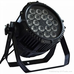 18PCS 15w 5 in 1 rgbwa led par outdoor IP65