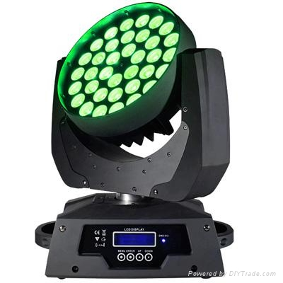 36*10W  rgbw  4 in 1 led zoom moving head wash light 1