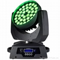 36*10W  rgbw  4 in 1 led zoom moving