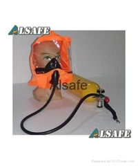 Emergency escape breathing apparatus