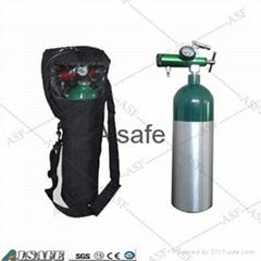 Aluminum portable  E size Oxygen tank