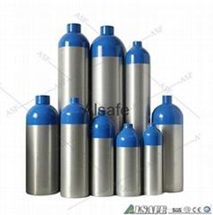 0.5L to 50L Aluminium medical Oxygen tank