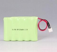 Ni-MH AA1300mAh rechargeable battery