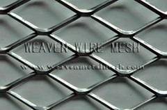 WEAVEN STAMPING EXPANDED METAL MESH