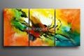 Handpainted Canvas Art Modern Oil Painting with Stretched Frame 2