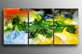 Handpainted Canvas Art Modern Oil Painting with Stretched Frame 4