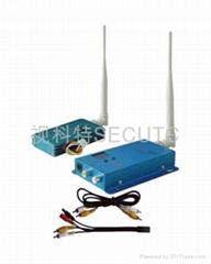1.5G1500mW12频道无线影音收发器