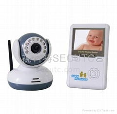 2.4GHz Digital Baby Monitor