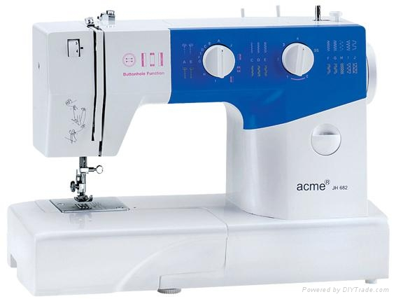 MultFunction Domestic Household Sewing Machine Acme JH40 China Unique Acme Sewing Machine