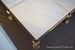 宁夏全钢瓷质防静电架空活动地板