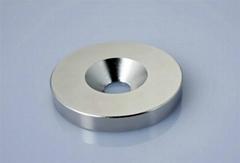釹鐵硼沉頭孔磁鐵
