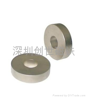 釹鐵硼沉頭孔磁鐵 4