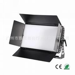 200W LED平板柔光燈 三基色冷光燈 LED視頻會議燈 虛擬演播廳面光
