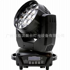 19x15W LED變焦搖頭染色燈