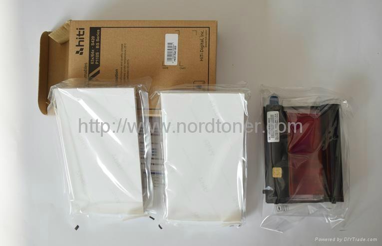 "Print Media for HiTi Model S420 CN Region Printer -50 Pack 4"" x 6"" Sheets Ribbon 2"