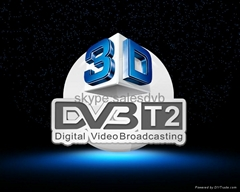 New Digital DVB-T2 Terrestrial Receiver with USB PVR Function