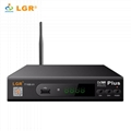 New 2018DVB-T2 Plus receiver watching TV by Phone