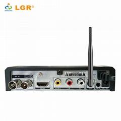 Hot sales DVB-T2 Plus H.264 Decoding digital terrestrial Receiver