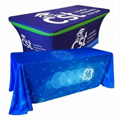 trade show event table cover