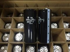 日立电容 2200UF400V