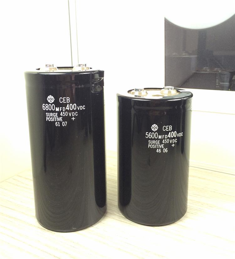 日立原裝電容 CEB系列5600UF400V 4