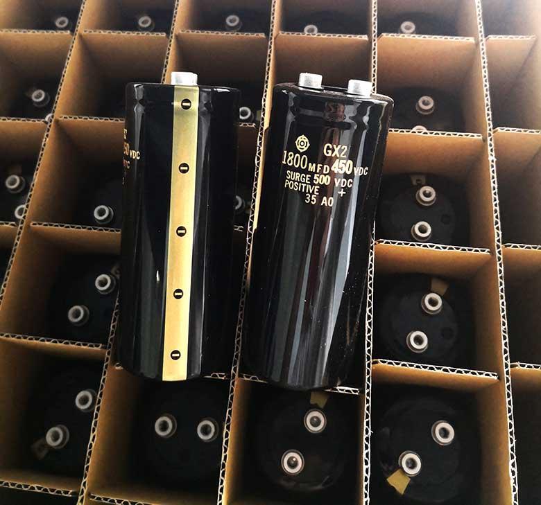 日立電容GX2系列 1800UF450V 1