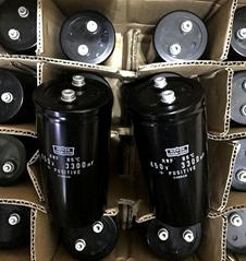 日本NCC黑金剛鋁電解電容 3300UF450V