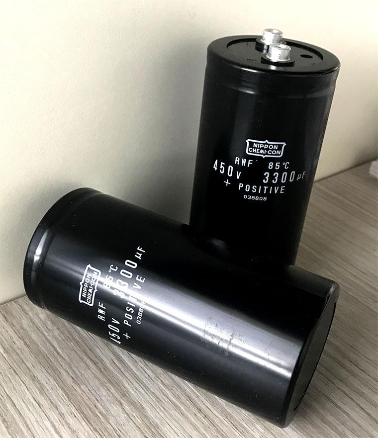 日本NCC黑金剛鋁電解電容 3300UF450V 2