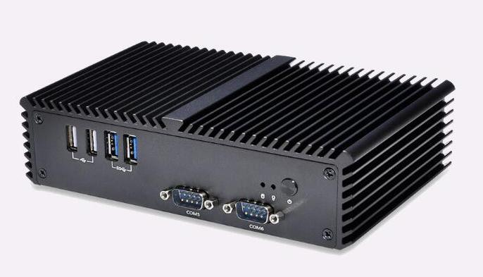 Q310P 3215U rs323 6串口 英特爾雙網卡雙HDMI工業迷你電腦 1