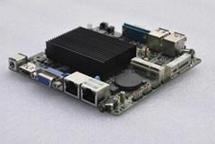 J1900 NanoITX 工控主板无风扇双网4串口