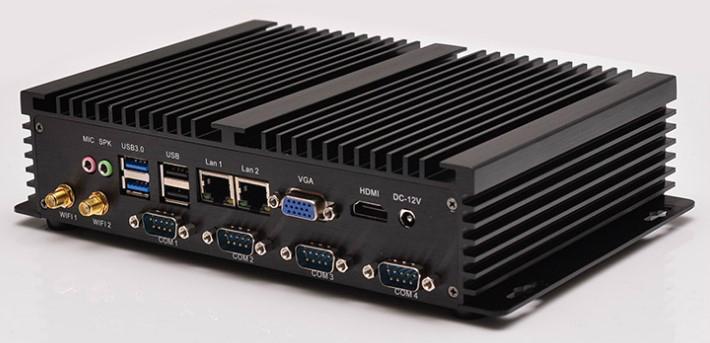 1037U四串口雙網卡迷你電腦電腦終端機瘦客戶機 1