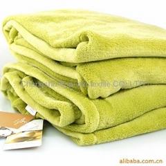 Coral fleece 100% polyester pajamas fabric cushion