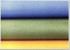 100% polyester eyelet air mesh fabric