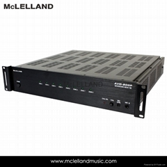 8 ZONES AUDIO  VIDEO DISTRIBUTION AMPLIFIER (AVD-800P)