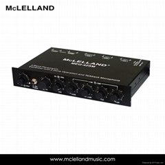 4band Equalizer with 2 Zone Operation Marine Equalizer (MEQ-42SM)