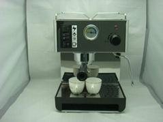 供应不锈钢半自动家用咖啡机