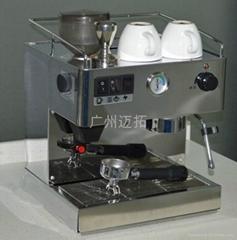 供應不鏽鋼半自動磨豆咖啡機