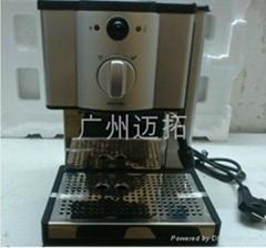 供应小精灵半自动咖啡机