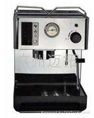 不锈钢半自动意式咖啡机