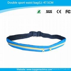 Sport waist bag/ men belt bag