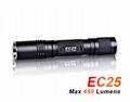ACEBEAM EC25 CREE XML-T6 450 Lumens Mini LED Flashlight